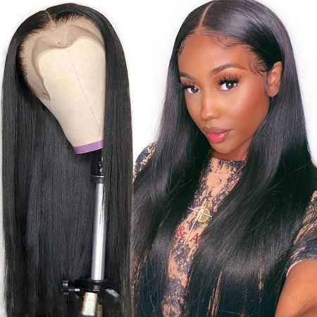 Today Only Hair Lace Front Human Hair Wigs Brazilian Straight Pre Plucked Hairline Baby Hair