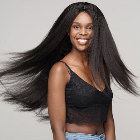 Todayonly Hair Kinky Straight Lace Front Human Hair Wigs Brazilian Virgin Yaki HD Lace Frontal Wig With Baby Hair