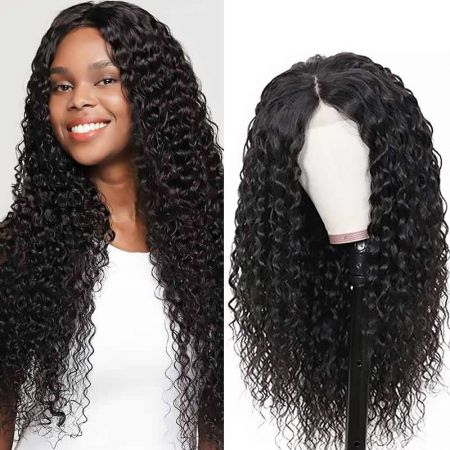 Today Only Hair Water Wave HD Lace Wig  Lace Frontal Virgin Human Hair 150%/180% Density