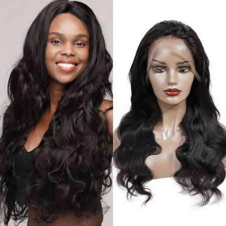 Today Only Hair 13*4 HD Lace Frontal Wigs Brazilian Body Wave Human Hair 150%&180% Density