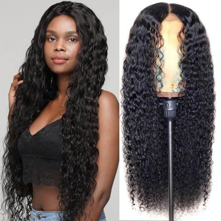 Todayonly Hair Lace Frontal Kinky Curly Human Hair Lace Front Wigs Brazlian Virgin Hair
