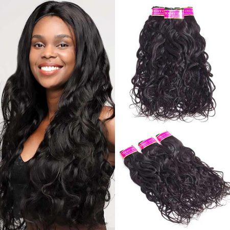 Today Only Hair Peruvian Natural Wave Hair 3 Bundles Virgin Hair Weave Can Be Dyed