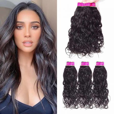 Today Only Hair Natural Wave Hair 4 Bundle Deals Virgin Hair Weave Can Be Dyed And Bleach